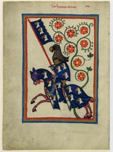 CodexManesseFol184vHartmannVonAue