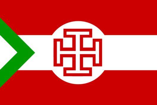 Kruckenkreuzflagge_Ständestaat