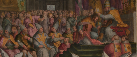 vasari coronation charles v bologna detail