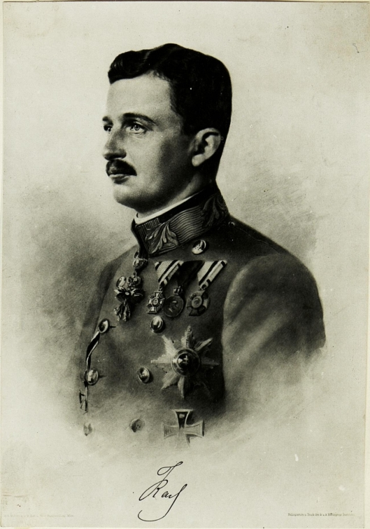 Sr.Majestät Kaiser Karl. (Reproduktion.)