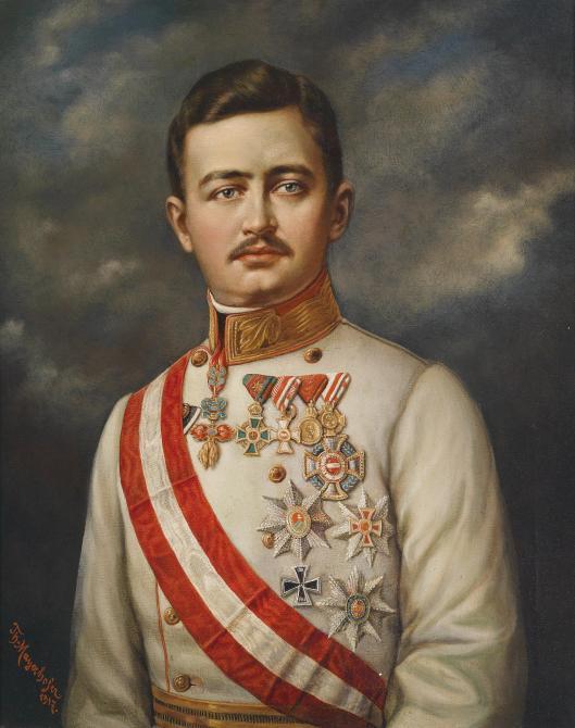 Theodor_Mayerhofer_Kaiser_Karl_I_von_österreich_1917